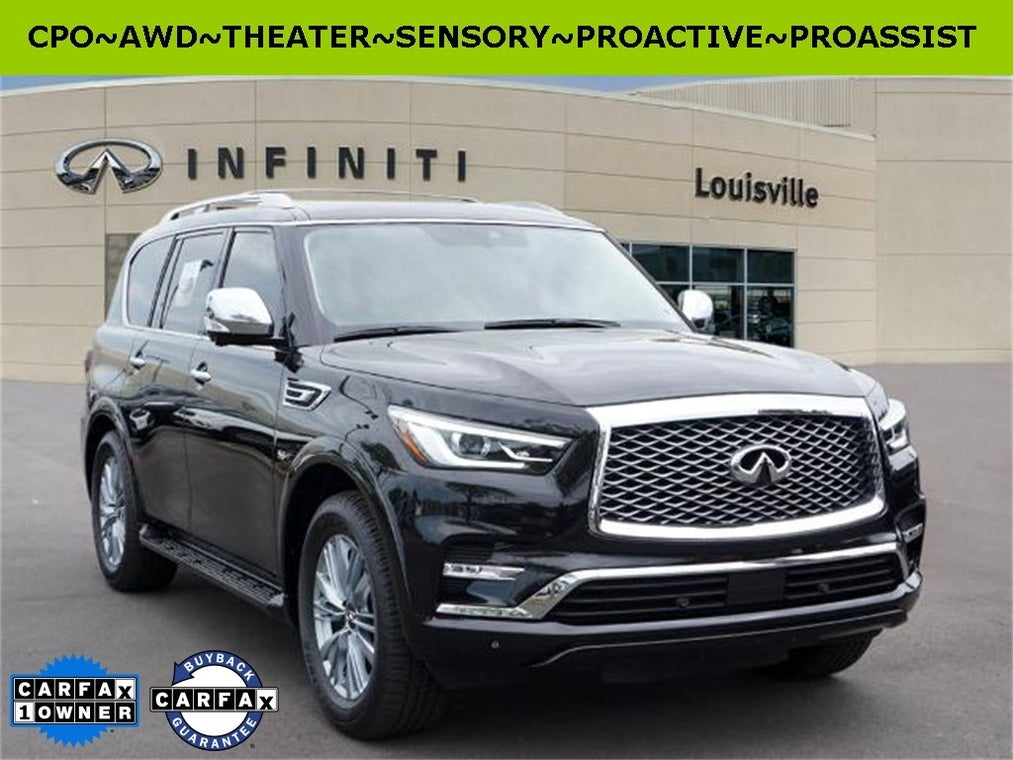 2019 Infiniti Qx80 Luxe Jefferson County Ky Serving Oldham County Shelby County Clark County Kentucky Jn8az2ne6k9229201